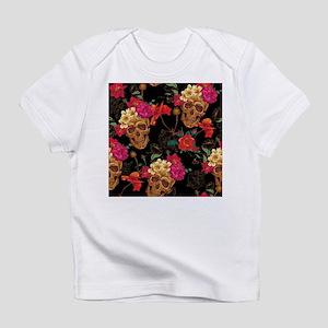floral Skulls Infant T-Shirt