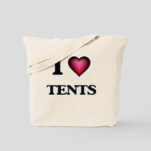 I love Tents Tote Bag