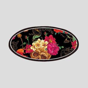 floral Skulls Patch