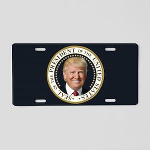 Trump Presidential Seal Aluminum License Plate
