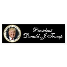 Trump Presidential Seal Sticker (Bumper)