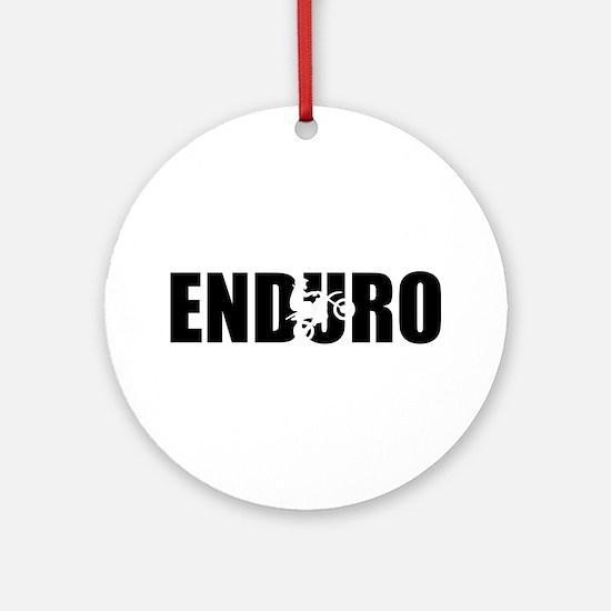 Enduro Round Ornament