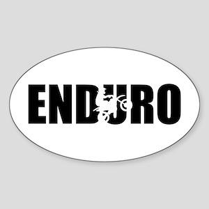 Enduro Sticker (Oval)