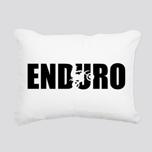 Enduro Rectangular Canvas Pillow