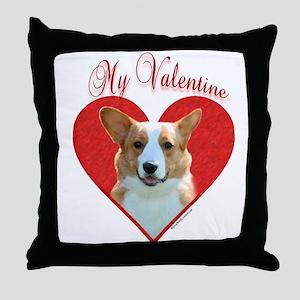 Cardigan Valentine Throw Pillow