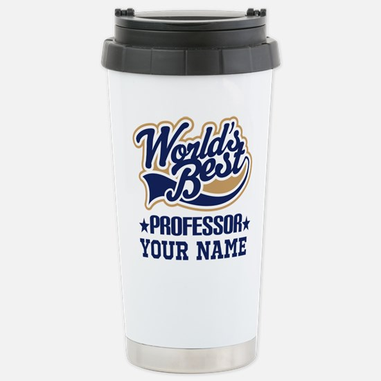 Professor Personalized Gift Travel Mug