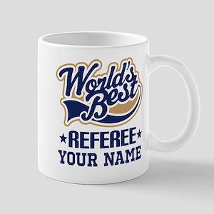 Referee Personalized Gift Mugs