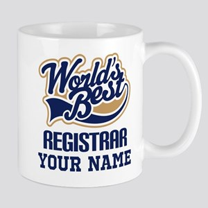 Registrar Personalized Gift Mugs