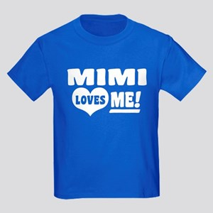 Mimi Loves Me Kids Dark T-Shirt