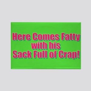 Christmas - Here Comes Fatty Magnets