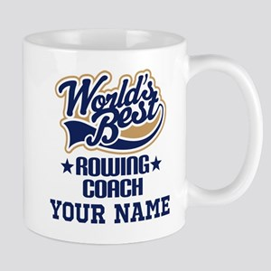 Rowing Coach Personalized Gift Mugs