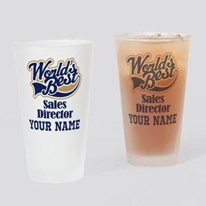 Sales Director Personalized Gift Drinking Glass