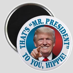 """Mr. President Trump - Hippi 2.25"""" Magnet (10 pack)"""