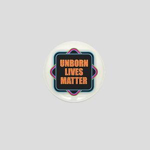 Unborn Lives Matter Mini Button