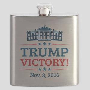 Trump Victory Flask