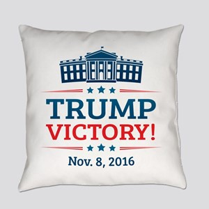 Trump Victory Everyday Pillow