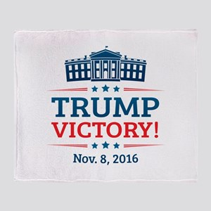Trump Victory Throw Blanket
