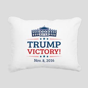 Trump Victory Rectangular Canvas Pillow