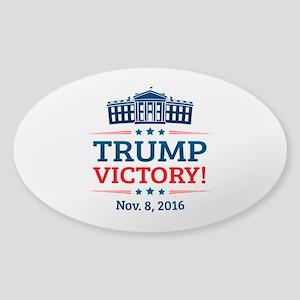 Trump Victory Sticker (Oval)