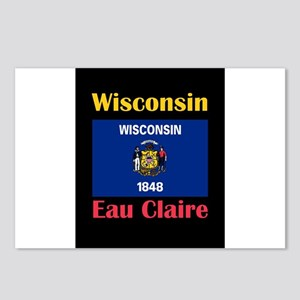 Eau Claire Wisconsin Postcards (Package of 8)