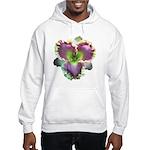 Lavender w/ Gold Daylily Hooded Sweatshirt