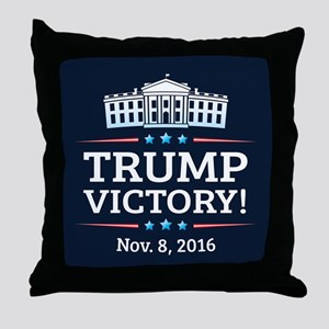 Trump Victory Throw Pillow