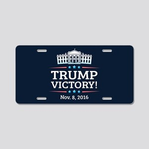 Trump Victory Aluminum License Plate