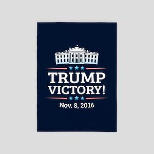 Trump Victory 5'x7'Area Rug