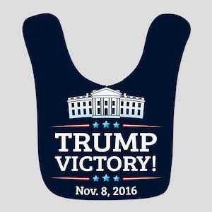 Trump Victory Polyester Baby Bib