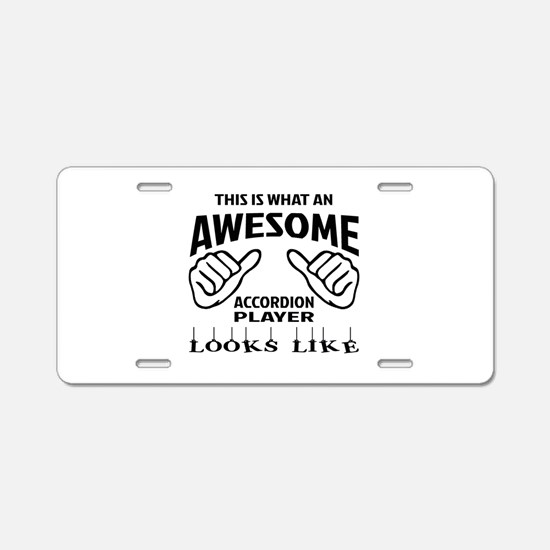 This is what an awesome acc Aluminum License Plate