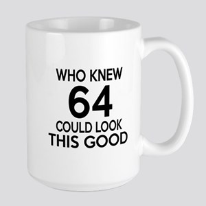 Who Knew 64 Could Look This Good Large Mug