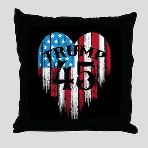 Trump America Throw Pillow