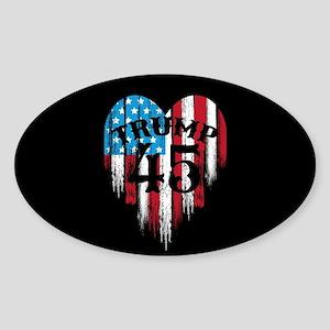 Trump America Sticker (Oval)