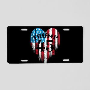 Trump America Aluminum License Plate