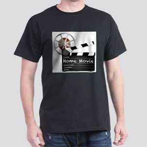 Home Movie Clapperboard and Reel T-Shirt