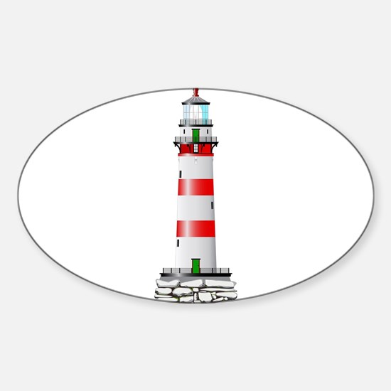 Isolated Lighthouse Decal