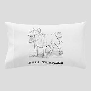Bull Terrier Coloring Pillow Case