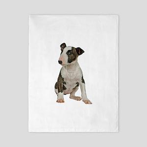 Bull Terrier Photo Twin Duvet