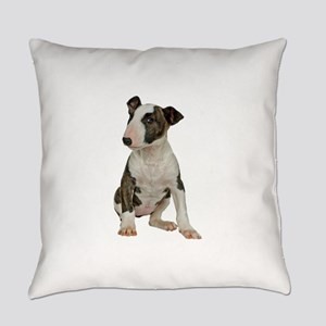 Bull Terrier Photo Everyday Pillow