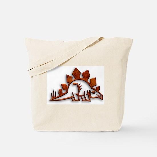 Stegosaurus Dinosaur Art 1 Tote Bag