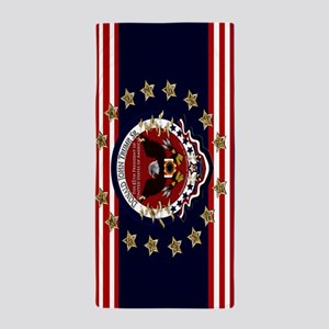 Donald Trump Sr. Inauguration 2017 Beach Towel