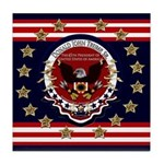 Donald Trump Sr. Inauguration 2017 Tile Coaster