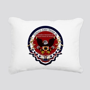 Donald Trump Sr. Inaugur Rectangular Canvas Pillow