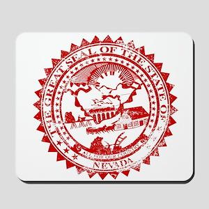 Nevasa Seal Rubber Stamp Mousepad