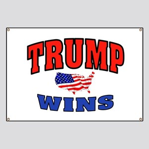 TRUMP WINS Banner