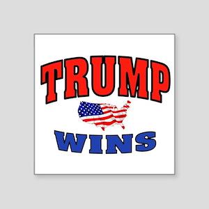 TRUMP WINS Sticker