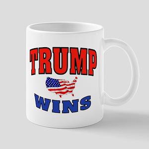 TRUMP WINS Mugs