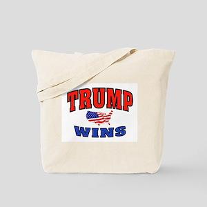 TRUMP WINS Tote Bag