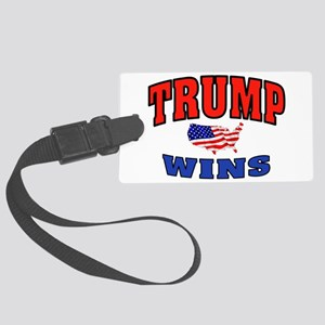TRUMP WINS Luggage Tag