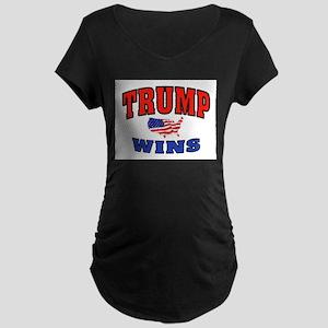 TRUMP WINS Maternity T-Shirt